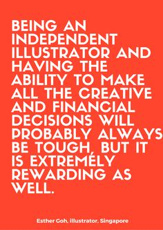 Read the interview on: thefloatingmagazine.com  #art #design #illustration #inspirationalquote #quote #contemporaryart