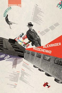 Aleksander Mikhailovich Rodchenko was a Russian artist, sculptor, photographer and graphic designer. He was one of the founders of constructivism and Russian design; he was married to the artist Varvara Stepanova.