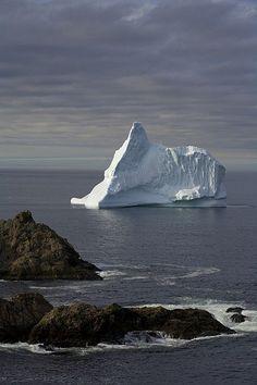 Iceberg, Twillingate, Newfoundland, Canada | photo by John Sylvester