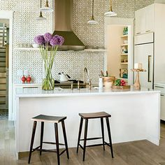 Eclectic Kitchen Photos Small Kitchen Design Ideas, Pictures, Remodel, and Decor - page 6