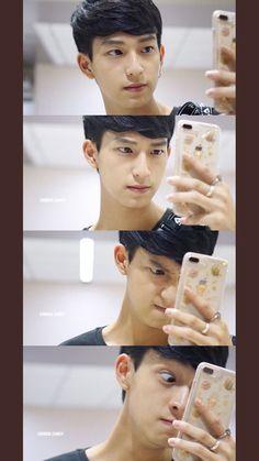 Meme Stickers, Thai Tea, Actor Photo, Love Film, Thai Drama, Student Gifts, Meme Faces, Chi Chi, Asian Boys