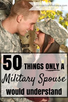 50 Things Only a Military Spouse Would Understand, pin now, read later #milspouses