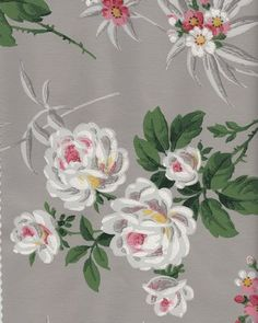 Free Graphic - Fabulous Vintage Wallpaper - The Graphics Fairy