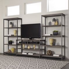 Home Styles Barnside Metro Entertainment Center - Walmart.com