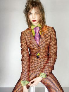 Karlie Kloss - British Vogue September 2012