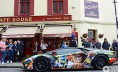 Lamborghini Aventador for World Cup 2014