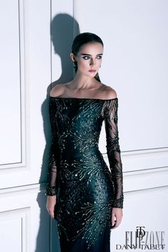 "Dany Tabet ""Night in Moscow"", F/W 2014-2015 - Couture - http://www.flip-zone.com/fashion/couture-1/independant-designers/dany-tabet-4987"