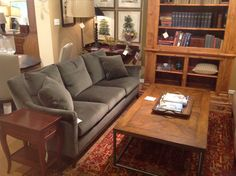 The Antiquarian Shop has some of Hickory Chair's Furniture on display; like this 9509-89 Jules Sofa. http://www.hickorychair.com/Furniture/ItemDetail.aspx?ItemID=509863