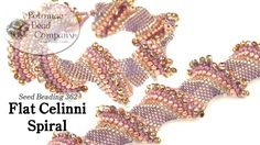 This video tutorial from The Potomac Bead Company teaches you how to weave the…