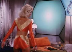 """Erin Grey in """"Buck Rodgers in the Century"""" Buck Rodgers, Science Fiction, Best Sci Fi Shows, Erin Gray, 80s Tv, Space Girl, Daisy Dukes, Movie Costumes, Tall Women"""