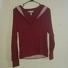 Sweater with hood Never worn super comfy will definitely keep you warm will also fit a medium GAP Sweaters V-Necks