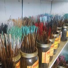 Today we're featuring one of our most popular items, incense. We have over 50 varieties to choose from! #sadiegreens #instore #incense