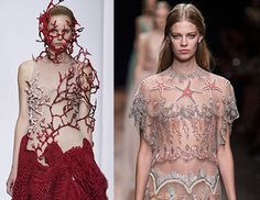 15 Under The Sea Dresses That Will Amaze!  There's nothing more beautiful than the world around us, but sometimes we forget just how stunning the world is under the sea. Check out these amazing ocean inspired dresses from some of today's top designers.