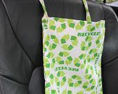 Reduce, Reuse, Recycle Auto Trash (or anything storage) Bag
