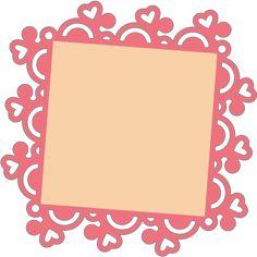 Free SVG File – Sure Cuts A Lot – 05.04.12 – Square Doily Frame | SVGCuts.com Blog