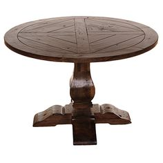 Rustic Round Dining Table For 8 vintage industrial metal and wood dining table with 6 tolix style