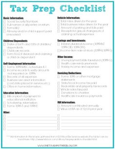Build A Family Binder In 31 Days Day 15 Income Tax Return