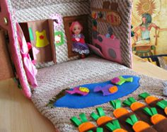 Toddler Activity Board with fasteners от MagicRabbitToy