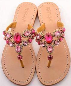 Mystique sandals in pink :) Mais Pretty Shoes, Beautiful Shoes, Cute Shoes, Me Too Shoes, Cute Sandals, Shoes Sandals, Flat Sandals, Leather Sandals, Mystique Sandals
