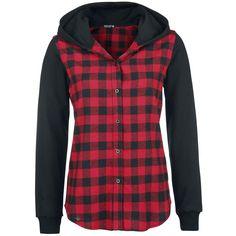 Hooded Checked Shirt von R.E.D. by EMP