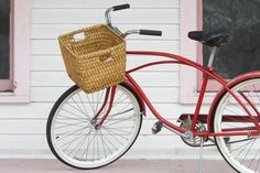 """There are plenty of bicycle baskets on the market that are both affordable and attractive, but if you're a """"ride or DIY"""" type —this project is for you"""