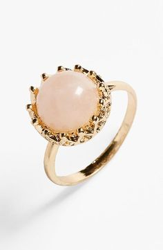 For a princess: Crown Stone Ring
