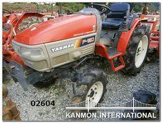 Yanmar Tractor, Tractors, Outdoor Power Equipment, Monster Trucks, Japanese, Japanese Language, Garden Tools
