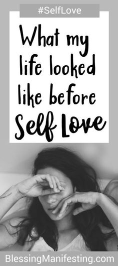 What my life looked like before I started loving myself. #selfcare #selflove #depression #mentalhealth