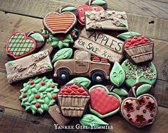 Apple Orchard cookies. By Yankee Girl Yummies