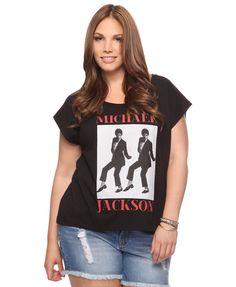 Classic Michael Jackson Top | FOREVER21 PLUS - 2000039307