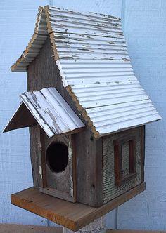 Berkley Rustic Bird House