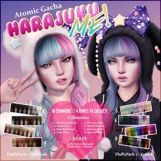 [Atomic] Gacha // Harajuku Me // Bunny - Noir Sims 4 Body Mods, Sims 4 Game Mods, Sims Mods, Sims 4 Tattoos, Sims 4 Piercings, Sims 4 Anime, The Sims 4 Packs, Sims 4 Gameplay, Sims 4 Dresses