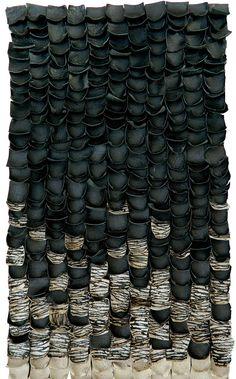 Constanza Urrutia Wegmann Textura en piel Leather, Fiber Philadelphia.org
