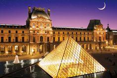 EPO-11-475 世界遺産 パリのセーヌ河岸XII-ルーブル美術館(フランス) 1000ピース ジグソーパズル[CP-H]