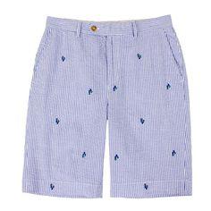 fairway and greene men's resort seersucker shorts !