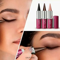 How to wear lipstick tips hair colors 34 Super Ideas Natural Lipstick, Dark Lipstick, Lipstick Swatches, Pink Lipsticks, Lipstick Colors, Liquid Lipstick, Oriflame Beauty Products, Oriflame Cosmetics, How To Apply Eyeliner