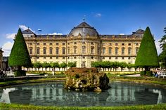 Münchner Residenz was the royal palace of the Bavarian monarchs of the House of Wittelsbach. The Residenz is the largest city palace in Germany. It features 10 courtyards located inside the large complex.