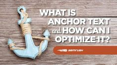 "What Is Anchor Text And How Can I Optimize It?  If you're an Internet marketer, you must know the power of ""anchor text"" in search engine optimization. Although this is a commonly-used phrase, many marketers are yet to discover what it really means after Google's Penguin and Hummingbird updates.  #Seo #Anchor #Optimize"
