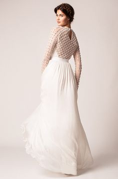 Beaded Wedding Dresses on Pinterest  Anne Barge, Fall 2015 and ...