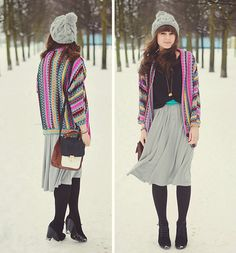 It's snowing again!  (by Maddy C) http://lookbook.nu/look/4613243-Sweater-It-S-Snowing-Again