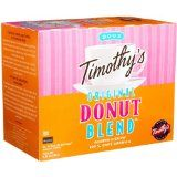Timothy's World Coffee, Original Donut Blend, K-Cup Portion Pack for Keurig K-Cup Brewers 24-Count  (Pack of 2) (Grocery)By Timothy's World Coffee