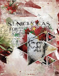 https://flic.kr/p/EySMPs   ST. NICHOLAS     Made with Jen Maddock's Creative Canvas No. 10  8x11 template #4 and her Christmas Wonder bundle.   Detailed credits in comment.