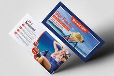 Tour Travel Gift Voucher. Wedding Card Templates Business Flyers, Business Card Design, Creative