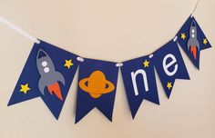 Rocket Birthday Parties, First Birthday Party Themes, 1st Boy Birthday, Outer Space Decorations, Grad Party Decorations, Outer Space Party, Cs Lewis, Space Theme, First Birthdays