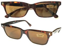 d0218e6694b04 Persol Ratti 9271 VINTAGE 1980s Sunglasses Tortoise Shell Frames NEW Etched  Lenses Made Italy Rare Case Included Gafas de sol Sonnenbrille