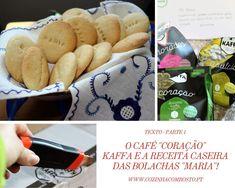 """O Café """"Coração"""" KAFFA e a Receita Caseira das Bolachas """"Maria""""! Portuguese Desserts, Holiday Recipes, Homemade Recipe, Desert Recipes"""