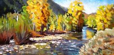 Wood River Rhythms, painting by artist Zack Thurmond