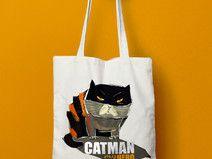 """Torba bawełniana """"Catman"""""""