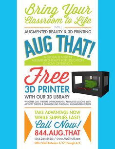 #Augmented reality #3D Printing by #augthat