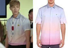 "Ji Hyun-Woo 지현우 in ""Trot Lovers"" Episode 8. Vivienne Westwood Man Sunset Degrade' Linen Shirt #Kdrama #TrotLovers 트로트의연인 #JiHyunWoo"